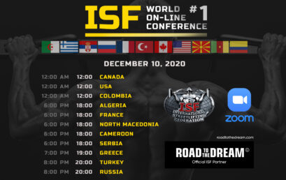 ISF World on-line сonference 2020